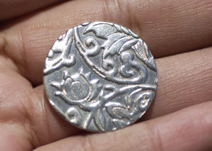 Textured Nickel Silver Disc Blank 20G 25mm Enameling Stamping Soldering Charms - Jewelry Supply - 4 Pieces