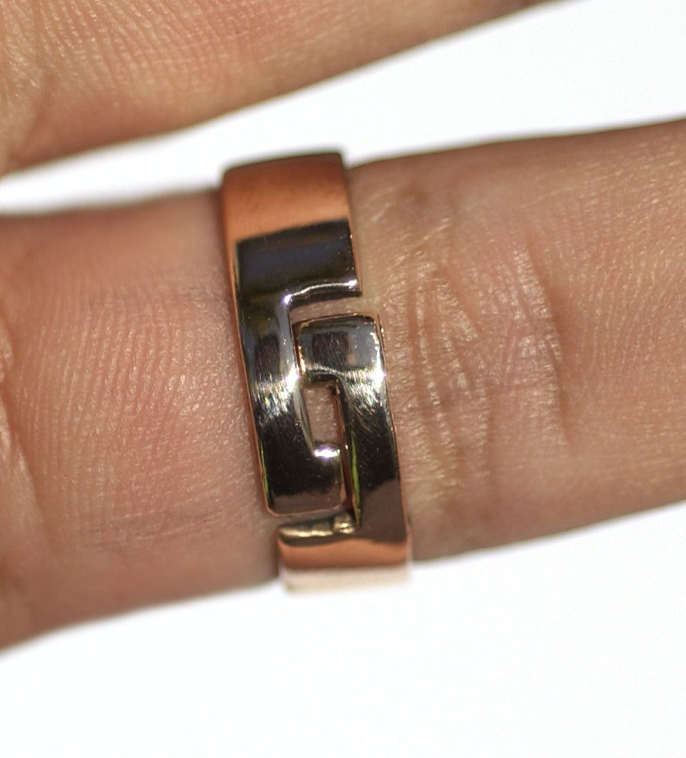 Handmade Adjustable Ring with 12mm Glue Pad, DIY Ring