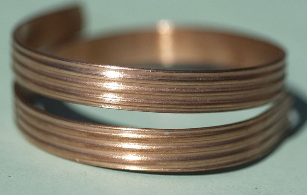 Blank Ring Wire 7.6mm Patterned Shank Strip for Ring Making
