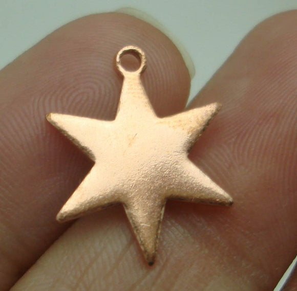 Buy Star Blank with Hole 17mm Cutout Charm online