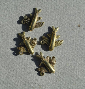 Buy Cast Bronze Japanese Koi Fish Charm online