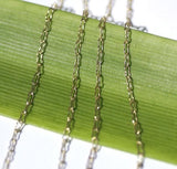 Crinkle Chain Bronze - Soldered