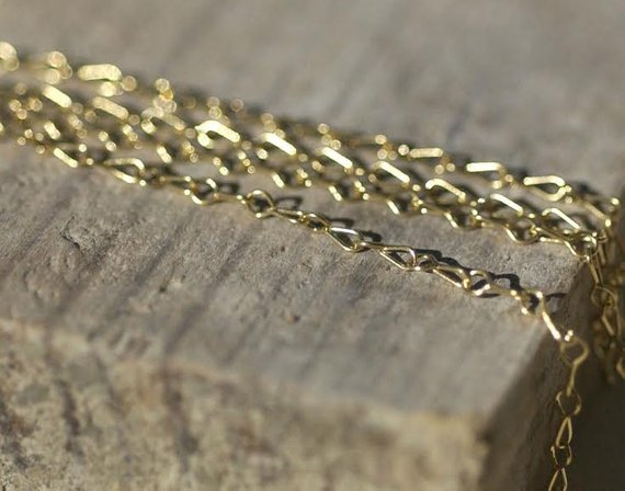 Rosary Chain Bronze - Open