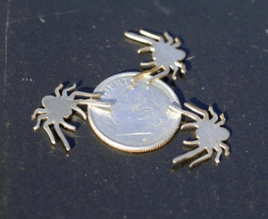 Tiny metal Spider blanks, Mini Spiders