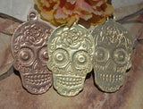 Sugar Skull Blank #4, Traditional Dia de los Muertos, Day of the Dead, 20G