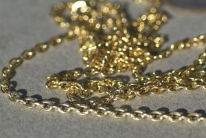 Oval Trace Chain Bronze - Soldered