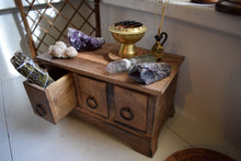 Load image into Gallery viewer, RITUAL WOODEN HERB CHEST | 3-DRAWERS | ALTAR HERB BOX
