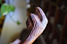 Load image into Gallery viewer, HAND-CARVED ARIZONA IRONWOOD PIPE | BEAR CLAW | BEAR MEDICINE