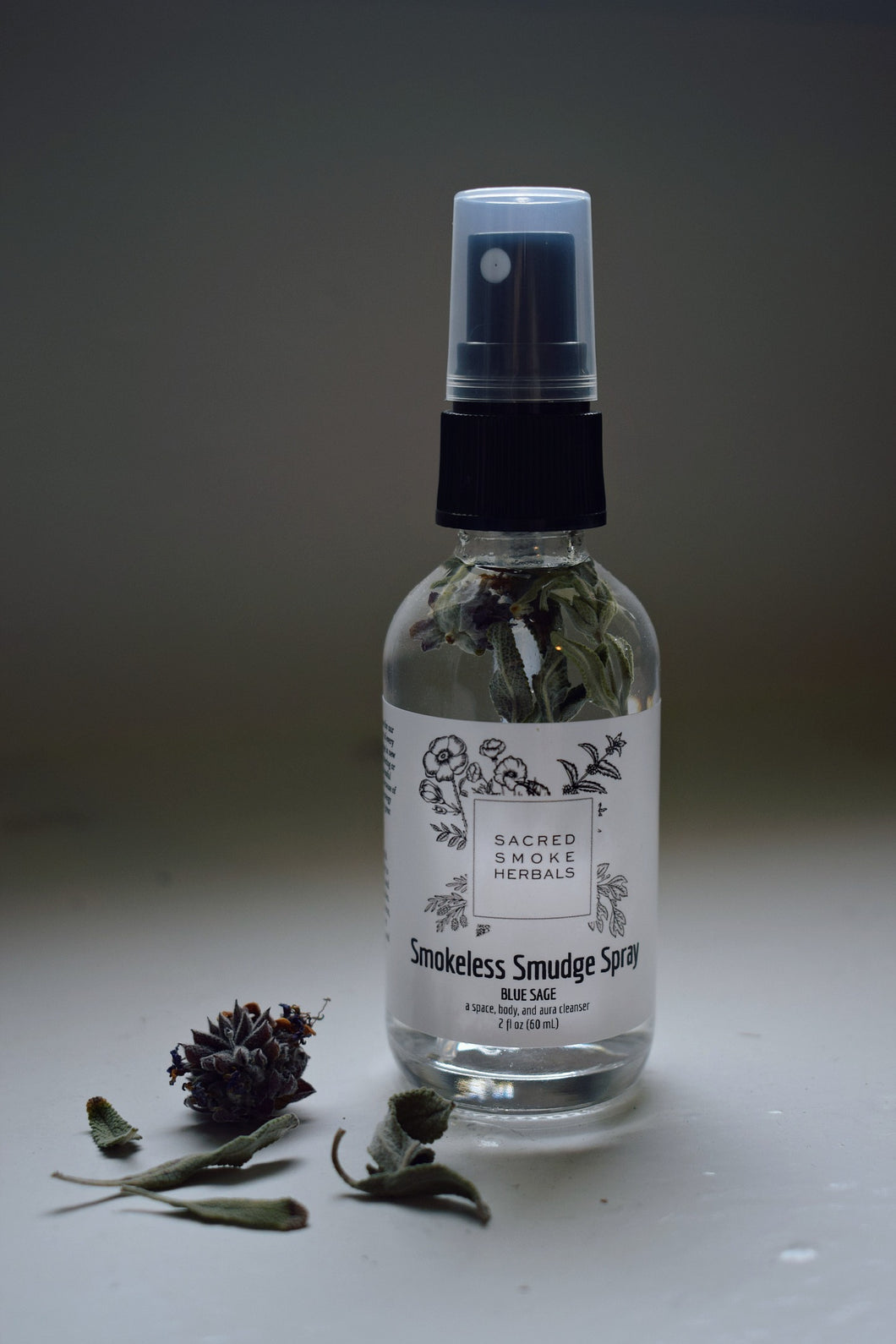 BLUE SAGE SMOKELESS SMUDGE SPRAY