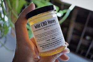 WILD RAW CBD HONEY | FULL-SPECTRUM HEMP HONEY