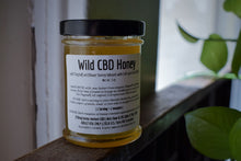Load image into Gallery viewer, WILD RAW CBD HONEY | FULL-SPECTRUM HEMP HONEY