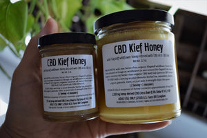 CBD KIEF HONEY | FULL-SPECTRUM HEMP HONEY