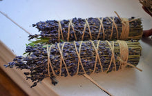 Load image into Gallery viewer, PEACE SMOKE WANDS | ROSEMARY & LAVENDER