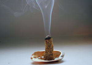 PALO SANTO INCENSE CONES | HOLY WOOD | ENERGY CLEANSING