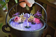 Load image into Gallery viewer, COSMOS INTENTION CANDLE | THIRD EYE OPENER | PSYCHIC | RITUAL CANDLE