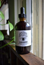 Load image into Gallery viewer, ELDERBERRY | A WILD HERBAL POTION | DOUBLE-EXTRACTED | ELDERBERRIES + REISHI + USNEA + HONEY
