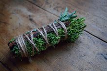 Load image into Gallery viewer, JUNIPER + SAGE SACRED SMUDGE WAND | CLEANSING - RESILIENCE - WISDOM | RITUAL