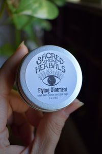 FLYING OINTMENT | SMALL-BATCH | WITCHES OINTMENT | HERBAL FOLK MAGICK