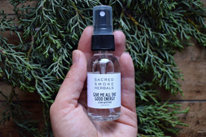 GIVE ME ALL THE GOOD ENERGY MIST | JUNIPER HYDROSOL | JUNIPER ESSENTIAL OILS | TREE SPIRIT MEDICINE