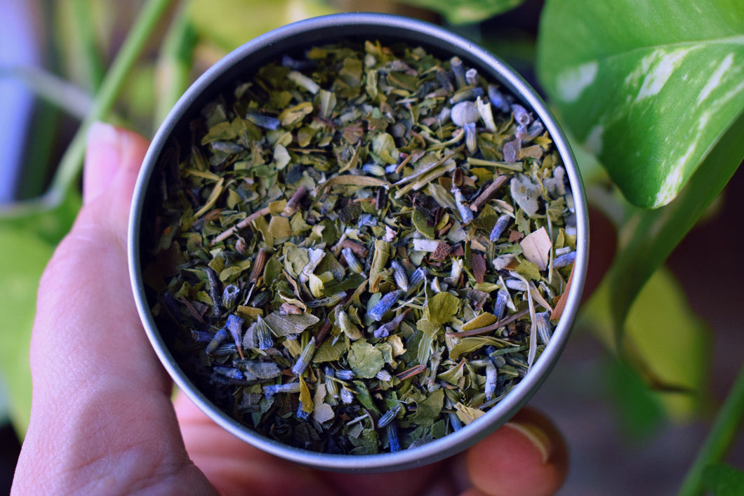GREEN HEALER | A LOOSE HERBAL BLEND TO RELAX THE MIND, BODY, & BREATH