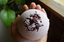 Load image into Gallery viewer, HIBISCUS MAGICK BATH BOMB | 300mg FULL-SPECTRUM CBD