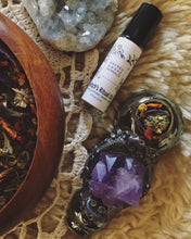 Load image into Gallery viewer, WITCH'S RITUAL OIL | CLEANSING OIL | OIL OF PURIFICATION | INTENTION-SETTING OIL