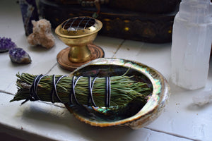 PINON PINE SMOKE WAND | WILD-HARVESTED ARIZONA PINON PINE | PINE SMUDGE