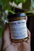 Load image into Gallery viewer, KALMING CBD HONEY | FULL-SPECTRUM HEMP HONEY | KAVA KAVA ROOT | CINNAMON