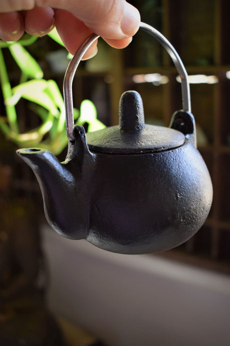 POT BELLY KETTLE CAST IRON CAULDRON WITH LID | WITCH'S CAULDRON