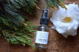 LOVE SPELL MAGICK PLANT SPIRIT MIST | PLANT SPIRIT MEDICINE | LOVE MAGIC