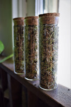 Load image into Gallery viewer, MEDITATION RITUAL INCENSE | PALO SANTO, SAGE, & JUNIPER | LOOSE HERBAL INCENSE