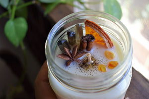 MULLED APPLE CIDER RITUAL CANDLE
