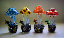 Load image into Gallery viewer, MUSHROOM GLASS PIPE | HAND PIPE