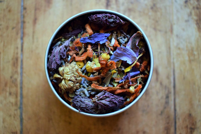NEW MOON RITUAL | AN HERBAL BLEND TO ASSIST IN INTENTION SETTING