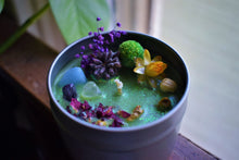 Load image into Gallery viewer, SPRING GARDEN RITUAL CANDLE | SPRING EQUINOX | INTENTION CANDLE