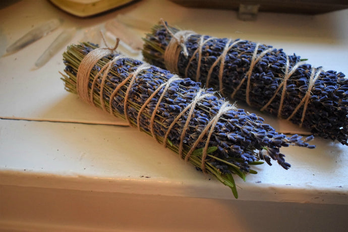 PEACE SMOKE WANDS | ROSEMARY & LAVENDER