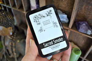SACRED SMOKE | 10-PACK CBD PREROLLS | HEMP FLOWER | CBD JOINTS | HAND-ROLLED SMOKES