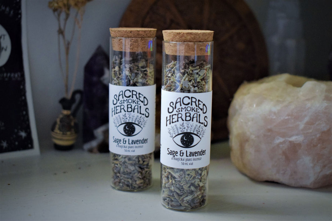 SAGE & LAVENDER INCENSE | LOOSE HERBAL INCENSE