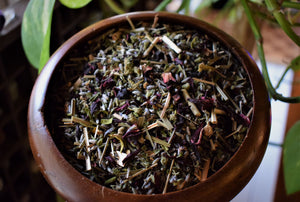 THE SEVEN GATES RITUAL TEA | HERBAL ALLIES TO SUPPORT FULL CHAKRA BODY ALIGNMENT