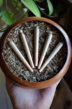 Load image into Gallery viewer, VISIONARY PRE-ROLLS |  CBD & CBG HEMP PRE-ROLLS | COMBRETUM QUADRANGULARE HERBAL JOINTS
