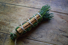 Load image into Gallery viewer, WILD FOREST CLEANSING WAND | WILDCRAFTED SMUDGE STICK