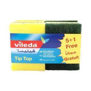 فيلدا اسفنجة تنظيف تيب-توب    Vileda Tip Top Sponge 5 Pcs