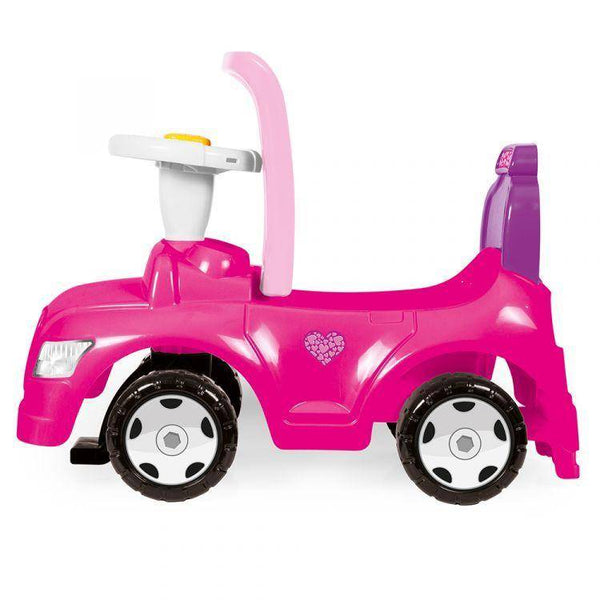 عربة سيارة DOLU STEP CAR 2 IN 1 PINK CTN WPOSTER