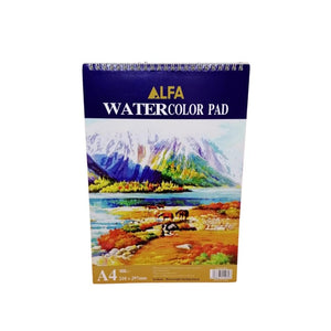دفتر رسم مائي الفا ALFA Watercolor drawing book