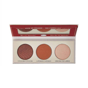 احمر خدود من ذا بالم BALM SMOKE BALM with Foil EYE Shadow palette