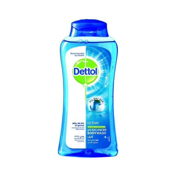 ديتول غسول الجسم   Dettol Active Anti-Bacterial Shower Gel 250ml