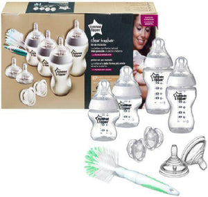 سيت حديث ولادة ابيض تومي تيبي  Tommee Tippee New Born Starter Set Contains soother 0m+