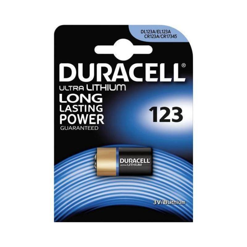 بطارية دوراسيل 123   Duracell Camera battery Lithium
