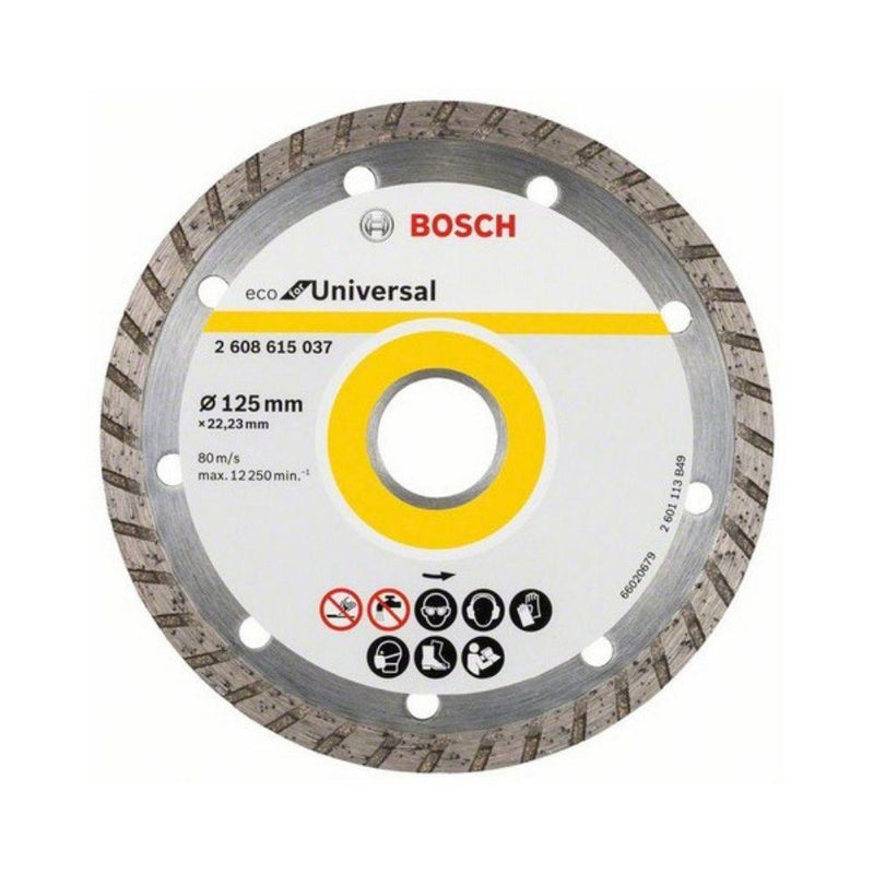 بوش تورب حجر كوسرة Bosch Turbo Diamond Cutting Disc