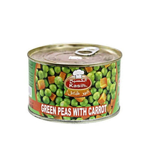 بازلاء وجزر الكسيح kasih green peas with carrot